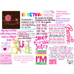 Cute little quotes :)) - Polyvore