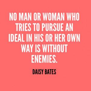 Daisy Bates Civil Rights Quotes