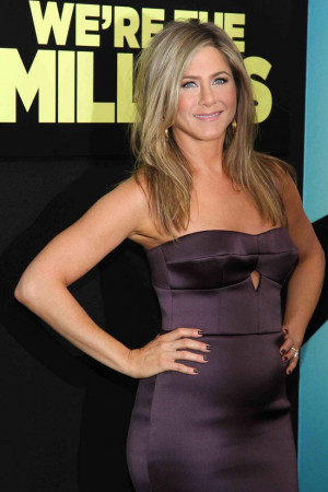 Jennifer Aniston has once again fuelled pregnancy rumours after ...