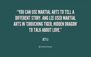 Bruce Lee Martial Arts Quotes