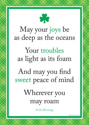 ... wishing for all of you today. : ) Happy St. Patrick's Day