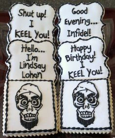 Achmed, The Dead Terrorist Themed Sugar Cookies More