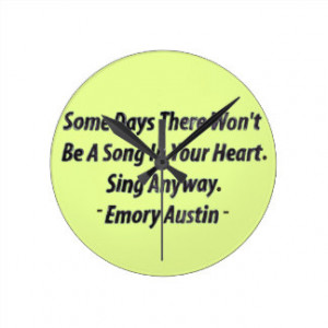 Quotes Clocks, Quotes Wall Clock Designs
