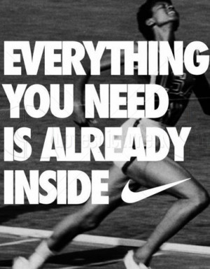 Advertising Quote for fb Share - Everything you Need is Already Inside