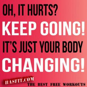 quotes motivational | Hasfit Com Exercise Training Motivation Workout ...