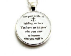 Typographic Navy Print Free Spirit Adventurous Nautical Quote Anchor ...