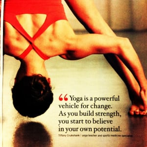 Yoga Quotes Inspiration Quote/picture from yoga