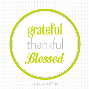Feeling Blessed And Thankful Quotes That i feel so incredibly