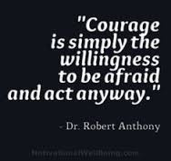 Living with faith and courage – Be courageous in all circumstances