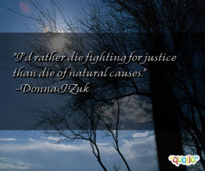 fighting for justice quotes