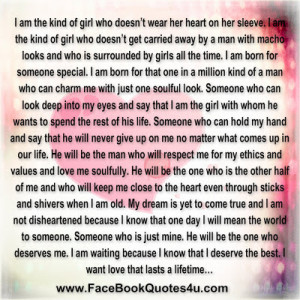 am the kind of girl who doesn t wear her heart on her sleeve i am ...