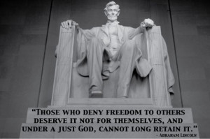 Abraham Lincoln Quotes On Freedom