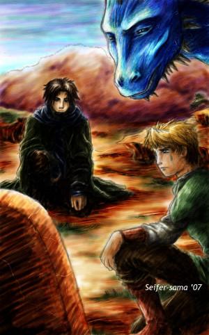Eragon And Murtagh Slash Sacrifice of a rider by