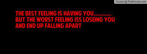 ... falling apart best friends miles apart quotes marriage falling apart