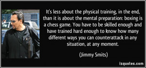 More Jimmy Smits Quotes