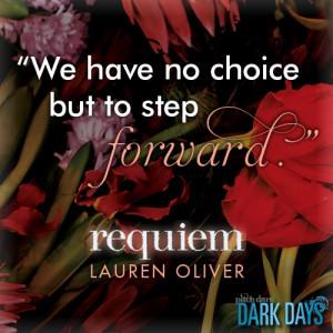 Lauren Oliver, Requiem
