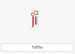 Japanese Multinational Information Technology Company Logo