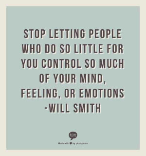 Don't let people bring you down: Control, Dont Dependent, Dependent ...