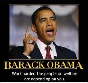 President Obama's deleterious effect on America's work ethic.
