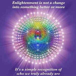 Enlightenment~ Right, exactly, an Awakening