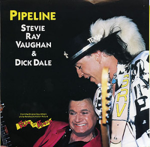 ... was a Stevie Ray Vaughan signature strat that got signed by Dick Dale
