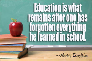 Education Remains Educational Quetes