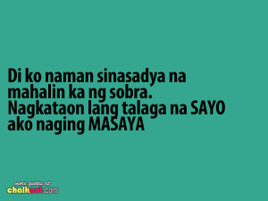 TAGALOG Quotes on Pinterest Tagalog Quotes Tagalog Love