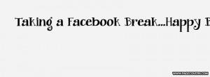 Facebook Break Cover Comments