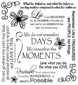 Moments Life Quote