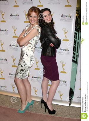 Actress Katie Leclerc And