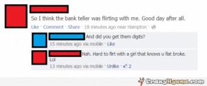 Bank Teller Funny Flirting-with-bank-teller- ...