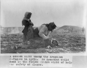 dead armenian girl in aleppo desert armenian genocide 1892 1917 during ...