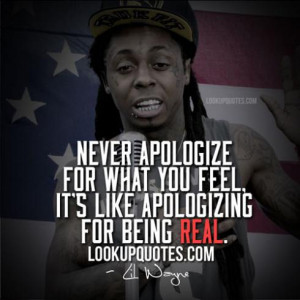 Lil Wayne Quotes And Sayings About Picture Quotes