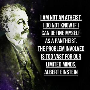 ... little-known Albert Einstein quotes on Fame, Love, Peace and Religion
