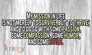 Make Your Mission In Life Worth It
