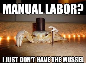 Manual Labor?