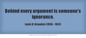 Louis D. Brandeis (1856 - 1941)