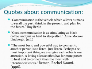 Quotes On Effective Written Communication ~ Communication process ,,,