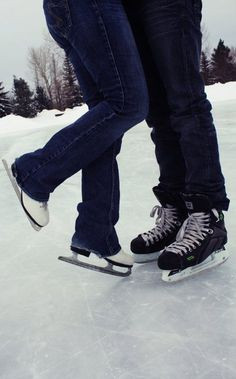 figure skaters and hockey players... we're meant to be. More
