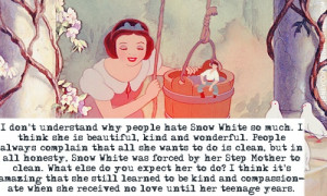 ... and doesn't deserve hate. - disney-classic-era-leading-females Photo