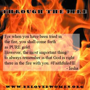 Through The Fire Beloved Women