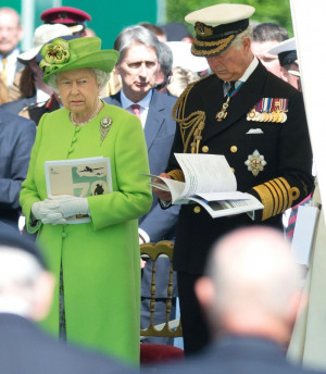 ... Queen Elizabeth attends 70th anniversary D-Day events in France