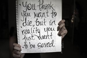 death, jounal, quotes, saved, sharpie, true, truth