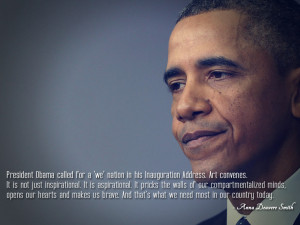President Obama called for a 'we' nation in his Inauguration Address ...
