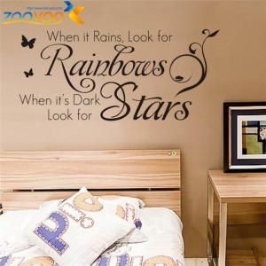 quotes wall decals bedroom zooyoo8140 living room wall art removable ...