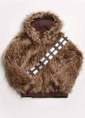 Le blouson et pull de Chewbacca