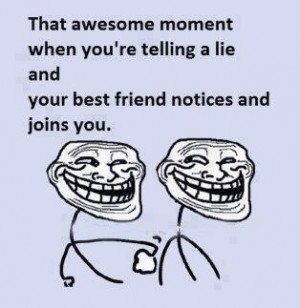 le best friend joke !!!