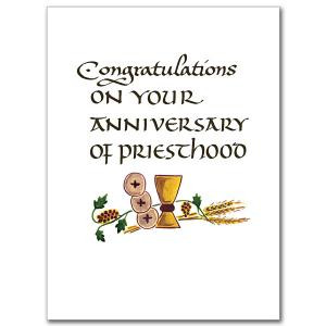 Priestly Ordination Anniversary Quotes