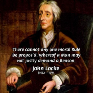 Philosophy John Locke --- DESIGNED BY: CafePress User