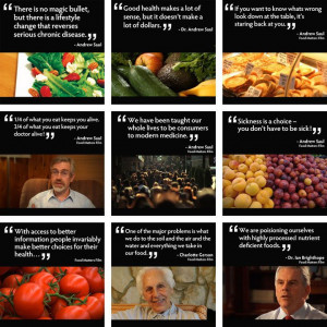Great quotes from Food Matters.